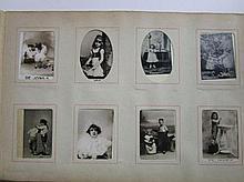 Album uit 1920 met 192 zwartjes De Jong en Molenaar Kindermeel