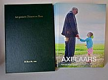 Twee boeken: Axelaars door Frank Deij en Het Geslacht  Alvarez en Dees door D, Dees Sr. 1986
