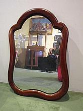 Spiegel met houten omranding, 71x51cm