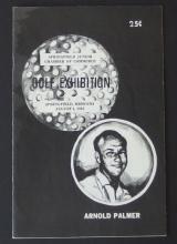ARNOLD PALMER SIGNED 1963 EXHIBITION BROCHURE