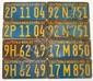 1930's CALIFORONIA 'DOUBLE' LICENSE PLATES