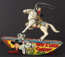 THE GREAT VINTAGE HOPALONG TOY & TIMEPIECE AUCTION