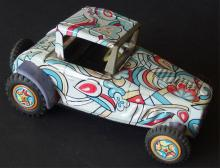MARX PSYCHEDELIC BEACH BUGGY TOY