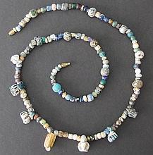 ROMAN GLASS BEADED NECKLACE Greco-Roman Period