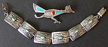 VINTAGE MEXICAN SILVER JEWELRY