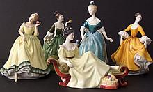 COLLECTION OF ROYAL DOULTON FIGURINES