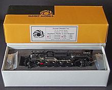 SUNSET BRASS MODEL TRAIN SP F-4 ENGINE MIB