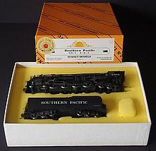 SUNSET BRASS MODEL TRAIN SP GS-1 LOCO & TENDER MIB