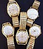 LOT OF VINTAGE GENTS' WATCHES