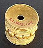 ETRUSCAN GOLD BARREL BEAD