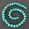 EGYPTIAN FAIENCE BALL BEADED NECKLACE Middle Kingdom
