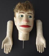 EARLY MARIONETTE DUMMY HEAD