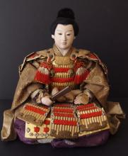 MEIJI PERIOD JAPANESE SAMURAI DOLL