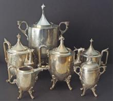 REED & BARTON SILVERPLATED TEASET