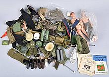 VINTAGE LOT OF MISC GI JOE PARTS