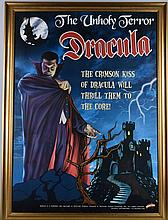 Special Edition DRACULA POSTER with FRAME