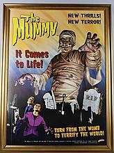 Special Edition THE MUMMY POSTER with FRAME