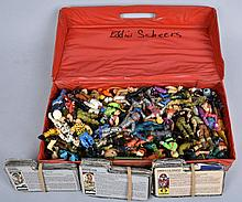 OVER 40 VINTGE 3 AND 3/4 INCH GI JOES W INDEX CARD
