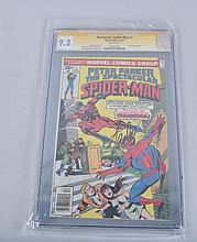 Graded SPECTACULAR SPIDERMAN #1 STAN LEE Signed