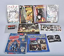 STAR WARS TAPE & BOOKS, STAMPS, BOOKS, & MORE