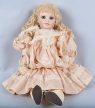 Large Bisque Artist  Doll, 23