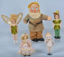Lot of 5 Dolls, Character & More