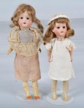 Lot of 2 Antique German Herm Steiner Dolls