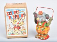 JAPAN Windup SKIPPING ELEPHANT w/ BOX