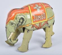 US ZONE GERMANY Tin Windup JUMBO ELEPHANT