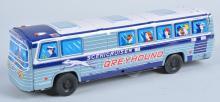 JAPAN Tin Friction GREYHOUND SCENICRUISER BUS