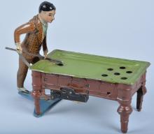 GUNTHERMAN Tin Windup POOL PLAYER