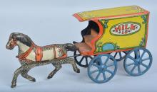CONVERSE Tin HORSE DRAWN MILK WAGON