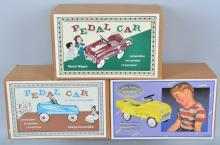 Lot of 3 LIMITED EDITION 1:3 Scale PEDAL CARS