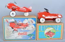 Lot of LIMITED EDITION PEDAL CAR TOYS w/ BOX
