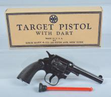 MARX TARGET PISTOL WITH DART Mint in Box