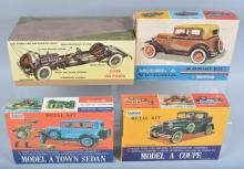 Lot of 4 HUBLEY MODEL KITS Mint in Box
