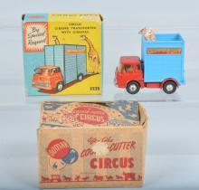 CORGI CIRCUS GIRAFFE TRUCK, BOXED & MORE