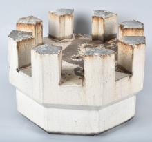 WHITE CASTLE Porcelain BUILDING TOWER FINIAL