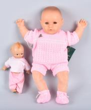 COMPOSTION KEWPIE DOLL & LISSIE PUPPE DOLL