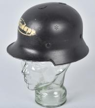 WWII GERMAN ZUNDAPP FACTORY WORKERS HELMET