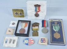 Lot of Military Medals, GAR, WW2 & More