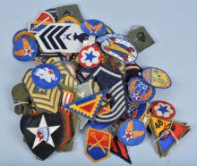 Large Lot of US Military Patches & More