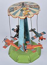 GERMAN Tin Windup AIRPLANE TOWER