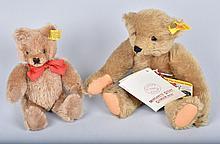 2- STEIFF TEDDY BEARS