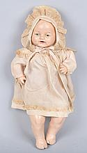 LARGE COMPOSITION BABY DOLL, E.I.H. CO, VINTAGE