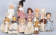 Lot of NANCY ANN DOLLS and MORE