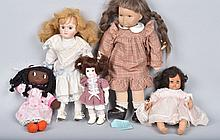 Lot of 5 DOLLS, MADAM ALEXANDER and MORE