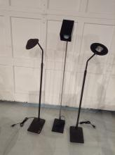 (3) Modernist floor lamps incl. K och & Lowy
