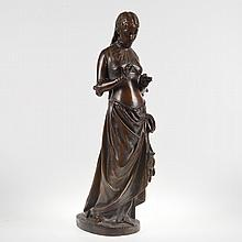 After Pierre Marie Oge (1849-1913, French), sculpture