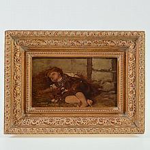 Agathe Roestel (1868-1926, German), painting